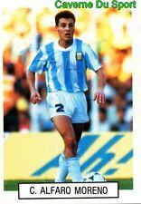 092 ALFARO MORENO ARGENTINA STICKER WORLD CUP ITALIA 90 GOAL MASTER EUROFLASH