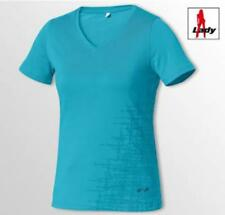 Neuf Tee shirt col en V lady 2XL bleu turquoise marque HELD