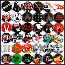 Stiff Little Fingers 1979-1980 Badge Set - 36 Quality Pin / Button Badges (Punk)