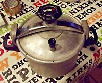 Ancienne Cocotte Minute cuiseur vapeur seb 4,5 à 6 L. légume Riz pomme de terre