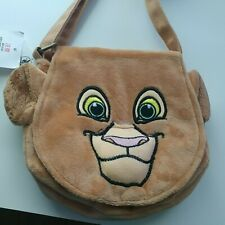 Disney Parks Lion King Cross Body Bag Purse 8 Inches Soft New with Tags