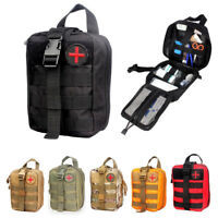 Premium First Aid Kit Tactical Survival Kit Molle EMT Pouch Bag Medical Hot Sale