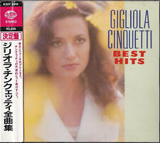 GIGLIOLA CINQUETTI Best Hits CD JAPAN OBI SERENADE POUR DEUX AMOURS GIAPPONESE