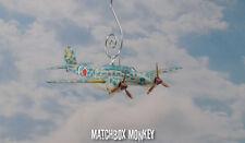 WWII Japanese Fighter Plane Kawasaki Ki-45 Toryu NICK Custom Christmas Ornament