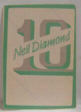 Neil Diamond - Old Original Concert Tour Cloth Backstage Pass