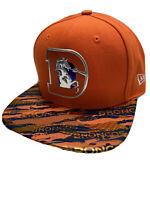 New Era NFL Denver Broncos Metallic 9FIFTY Men's Snapback Cap -One Size Orange