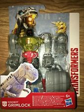 "TRANSFORMERS AUTHENTICS ALPHA GRIMLOCK 7"" ACTION FIGURE (HASBRO)(NEW IN BOX)"