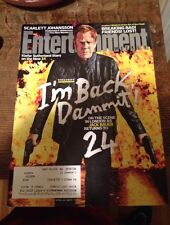 Entertainment Weekly, April 11, 2014 Kiefer Sutherland New 24, Jack Bauer