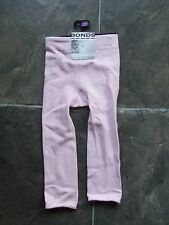 BNWT Girl's Bonds Pink Footless Tights Size 1-2