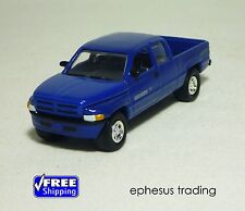 Johnny Lightning Mopar 1998 Dodge RAM 2500 Sport Pickup 19 Blue w/Gray 1/64 MINT