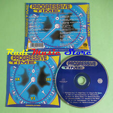 CD PROGRESSIVE TIME compilation 1995 THE OBSESSIVE LELLO B INSIT M.P.G. (C24)