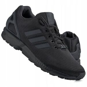 Adidas Genuine ZX Flux Black S32279 Mens Lightweigh Trainers Casual Shoes UK