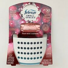 NEW Febreze Small Spaces Air Freshener Diffuser Fresh Twist Cranberry