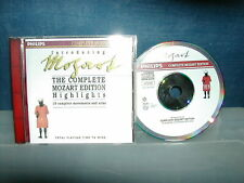 Introducing The Complete Mozart Edition - CD 1990 full silver Philips PDO