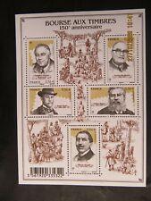 bloc feuillet timbres  France bourse aux timbres année 2010