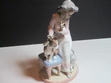 "Lladro Figurine #6026 ""My Turn"" New In Box Black Legacy Rare Collectible"