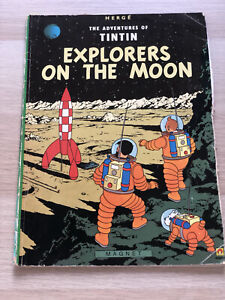 The Adventures of Tintin: Explorers on the Moon | Herge (1986) Magnet