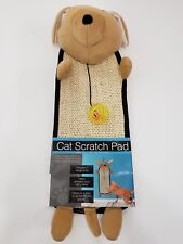 Cat Scratch Pad With Dangle Toy