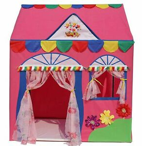 """Jumbo Size Hut Type Kids Toys Play Tent House For Kids , Multicolor, (44x36x54"""")"""