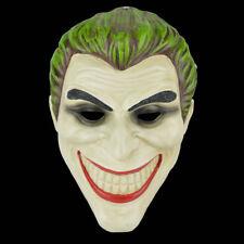 Scary Joker Clown Mask Adult Mens The Dark Knight Halloween Costume Accessory
