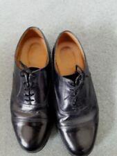 Zapatos de vestir de hombre negros sin marca de piel