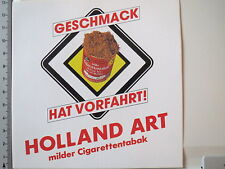 Aufkleber Sticker Holland Art - Milder Cigaretten Tabak - Decal (M1437)
