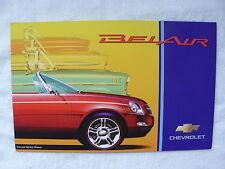 Chevrolet Belair - Concept Car - US-Prospekt Brochure 2001 USA
