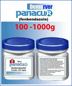 ✅  100gr-1000gr Powder Panacur 222mg/1g  (22.2%)