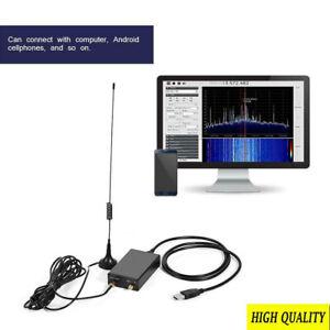 RTL.SDR USB Tuner Receiver R820T+8232 100KHz-1.7GHz Full Band UV HF DIY S6H6