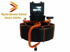 Kyrie Cam 2500S, 250 ft pipe inspection camera, sewer main 512hz Sonde, 250'