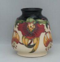 Moorcroft Anna Lily Vase - design 198/3 - 8cm