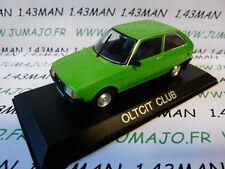 Voiture 1/43 IXO DEAGOSTINI Balkans : OLTCIT Club (Citroën Axel)