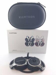 KAMTRON Marathon 2 Bluetooth Running Headphones Wireless Earphones Crystal Sound