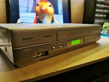 More details for see desc sharp vc-mh815hm vhs player no remote 9441