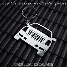 Cadillac Escalade Stainless Steel Keychain