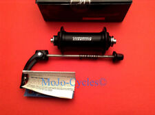 Campagnolo Record hubs Front & Rear Black 32h 9,10, & 11 speed New