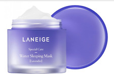 LANEIGE Water Sleeping Mask Lavender Limited New Version Moisturizing Face 70g
