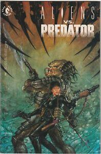 1990 ALIENS vs. PREDATOR #4 Dark Horse Comics Bag/Board Very Fine VF Predators