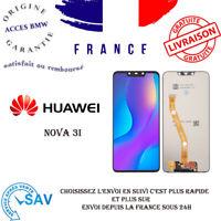 Original Huawei Nova 3i 3 I Affichage LCD Touch Cadre Verre Noir