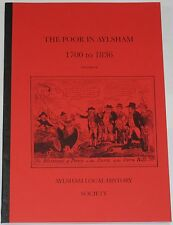 AYLSHAM HISTORY 1700-1836 Poor Law Relief Workhouses Poverty Eighteenth Century