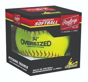 "Rawlings 14"" Oversized Pitcher's Training Fastpitch Softball"