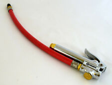 CoilHose Tire Chuck and Gauge - Made in USA - TGC1400-DPB Straight with Hose