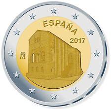 2 EUROS ESPAÑA 2017. MONEDA CONMEMORATIVA - SANTA MARÍA DEL NARANCO. S/C