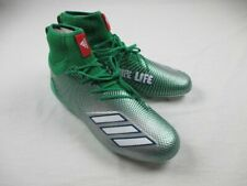 NEW adidas - Green/Silver/White Cleats (Men's 13.5)