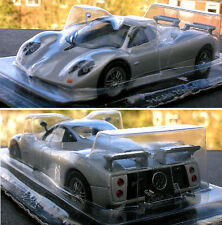 PAGANI ZONDA C12S scale 1/43 silver, unopened, in blister pack