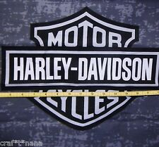 Harley Davidson gray fabric panel / remnant  20x19
