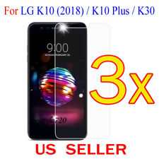 3x Clear LCD Screen Protector Guard Cover Film For LG K10(2018) / K10 Plus / K30