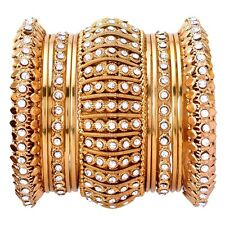 Indian Bangle Gold Plated Jodha Akbar Bollywood Fashion 13 Pieces Party Jewelry