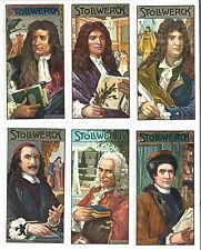 STOLLWERCK-Sammelbilder: Serie 440, Französische Dichter (6 Bilder)