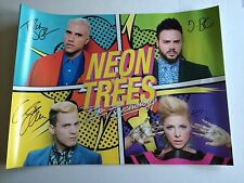 ★★NEON TREE - POP PSYCHOLOGY CD WITHPERSONALLY SIGNED/AUTOGRAPHED POSTER★★RARE
